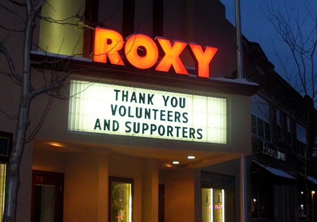 Photo courtesy of the Roxy Theater