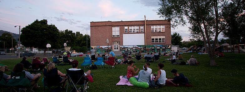 North Missoula Outdoor Cinema