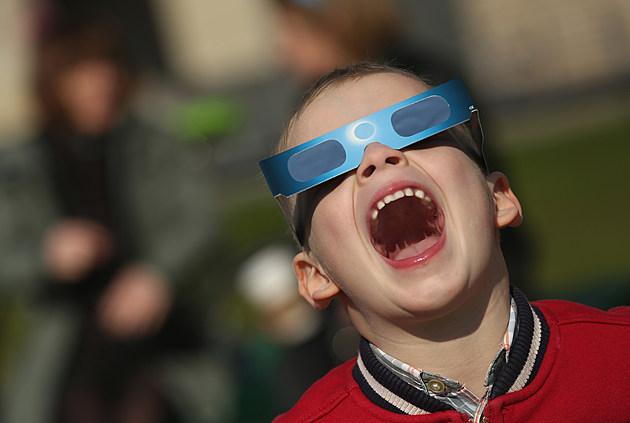 Partial Solar Eclipse Over Central Europe